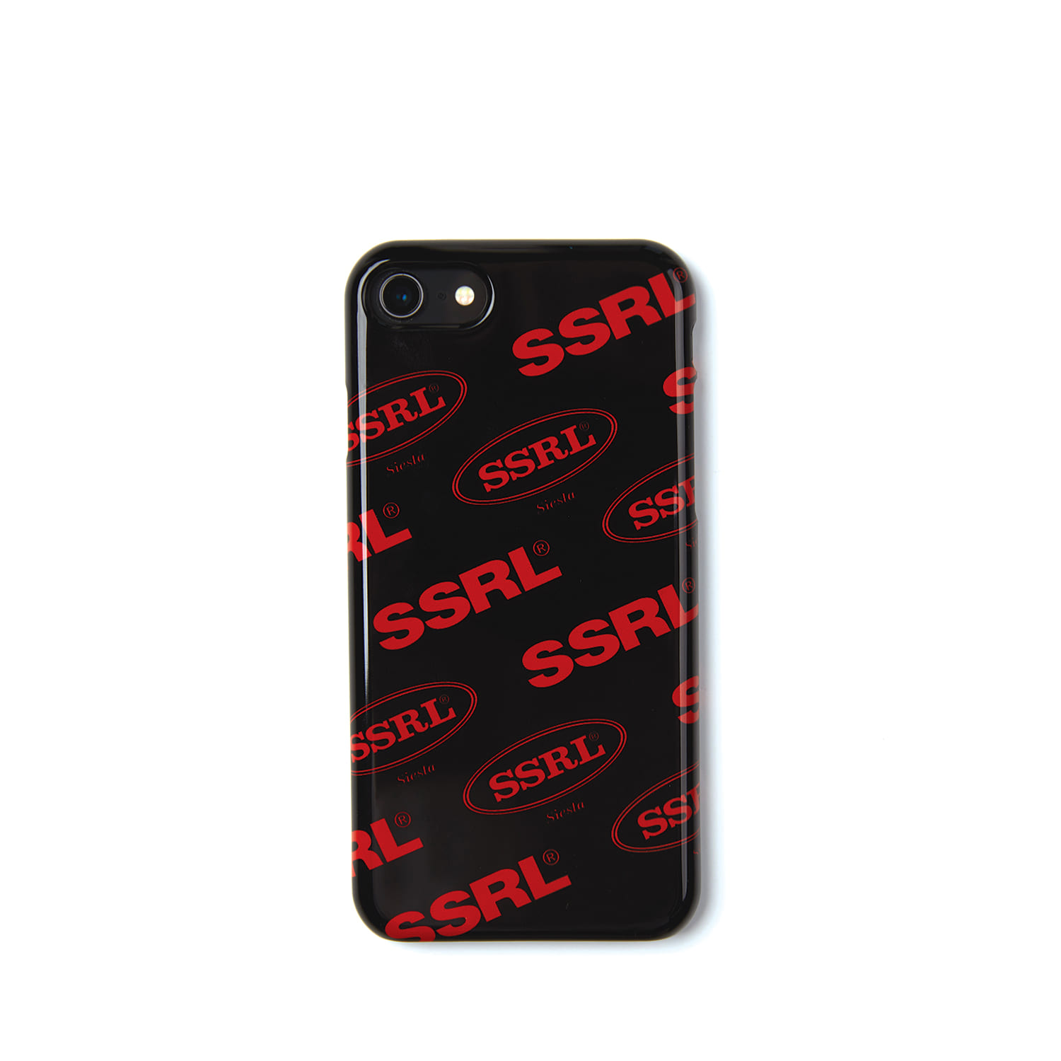 mix logo hard case / black