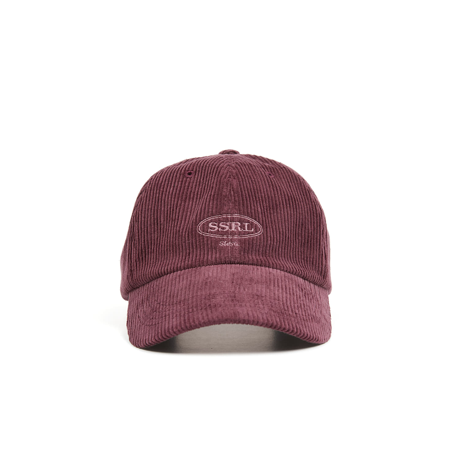 corduroy ball cap / wine