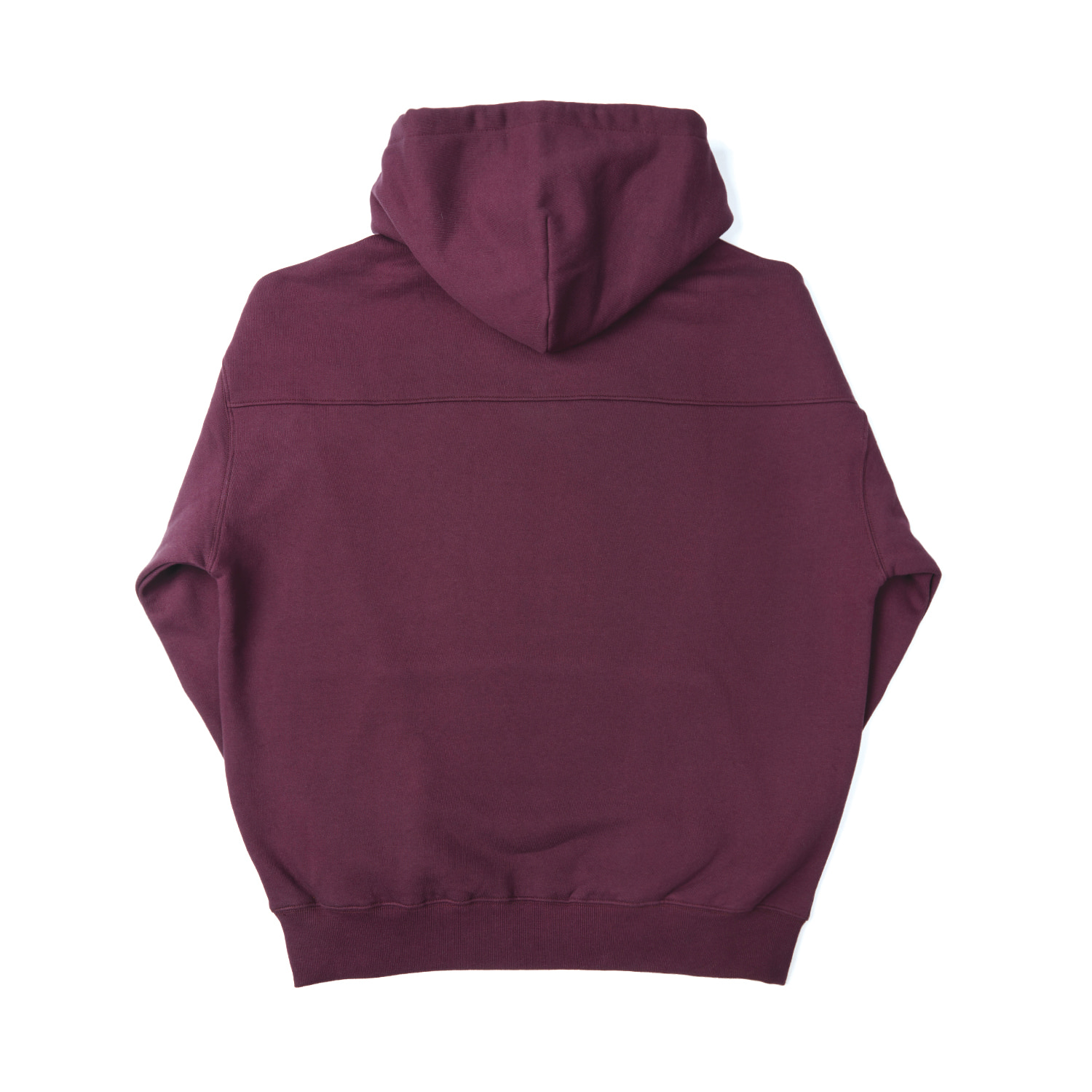 h-logo zip up / wine