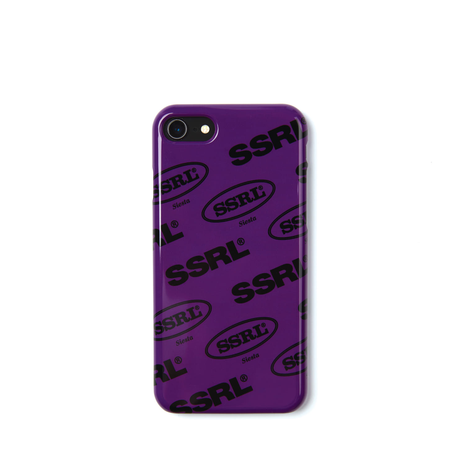 mix logo hard case / purple