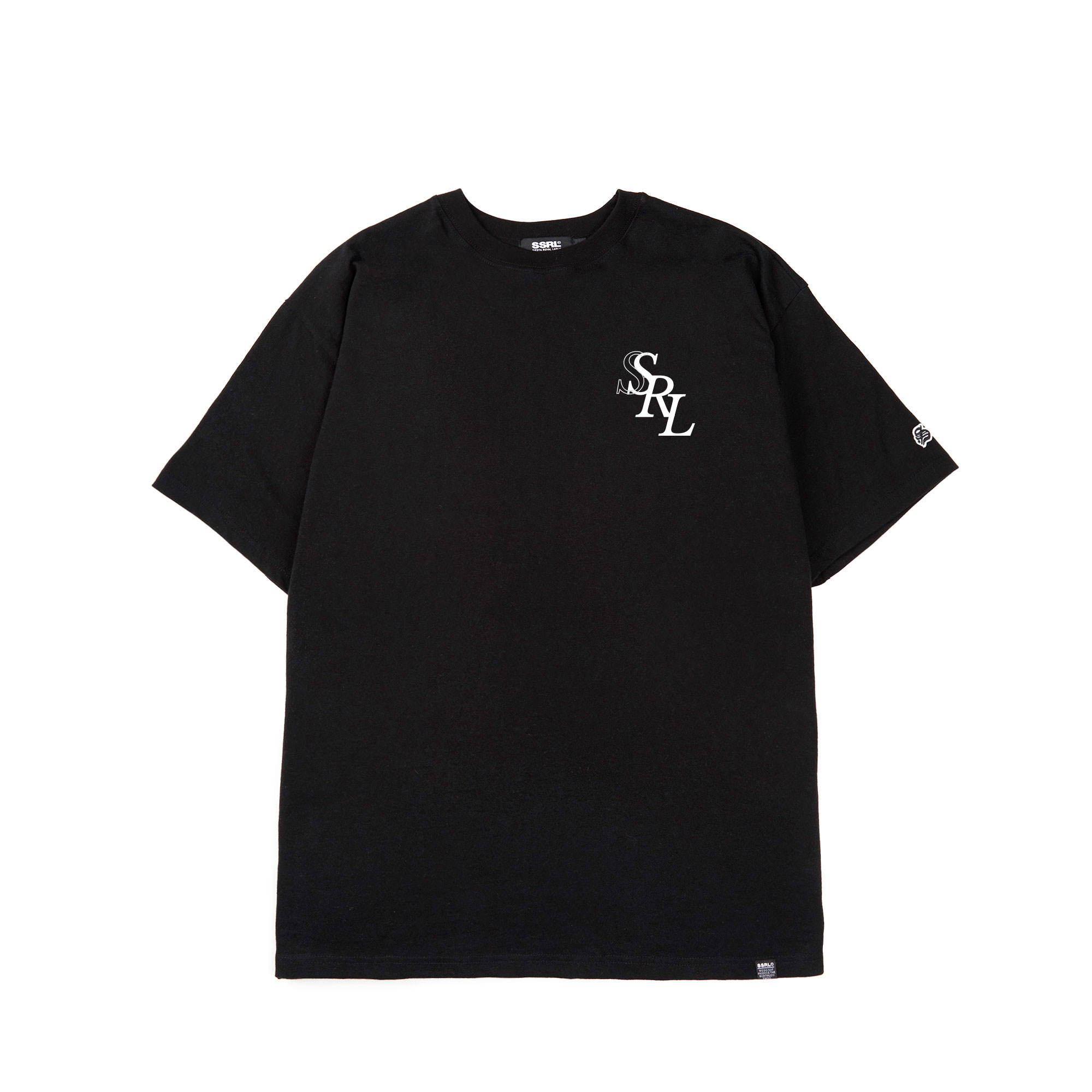 royal tee / black