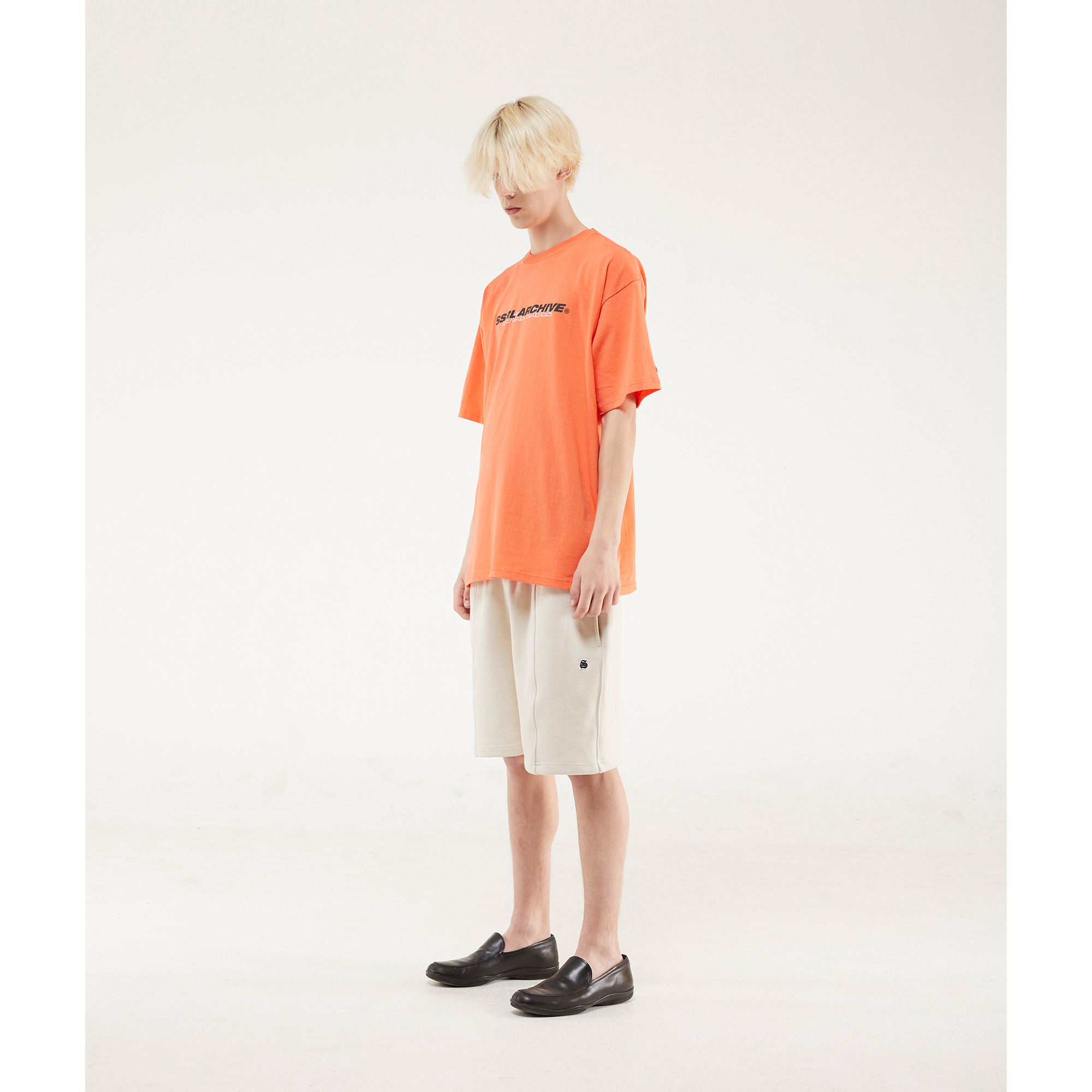 archive tee / living coral