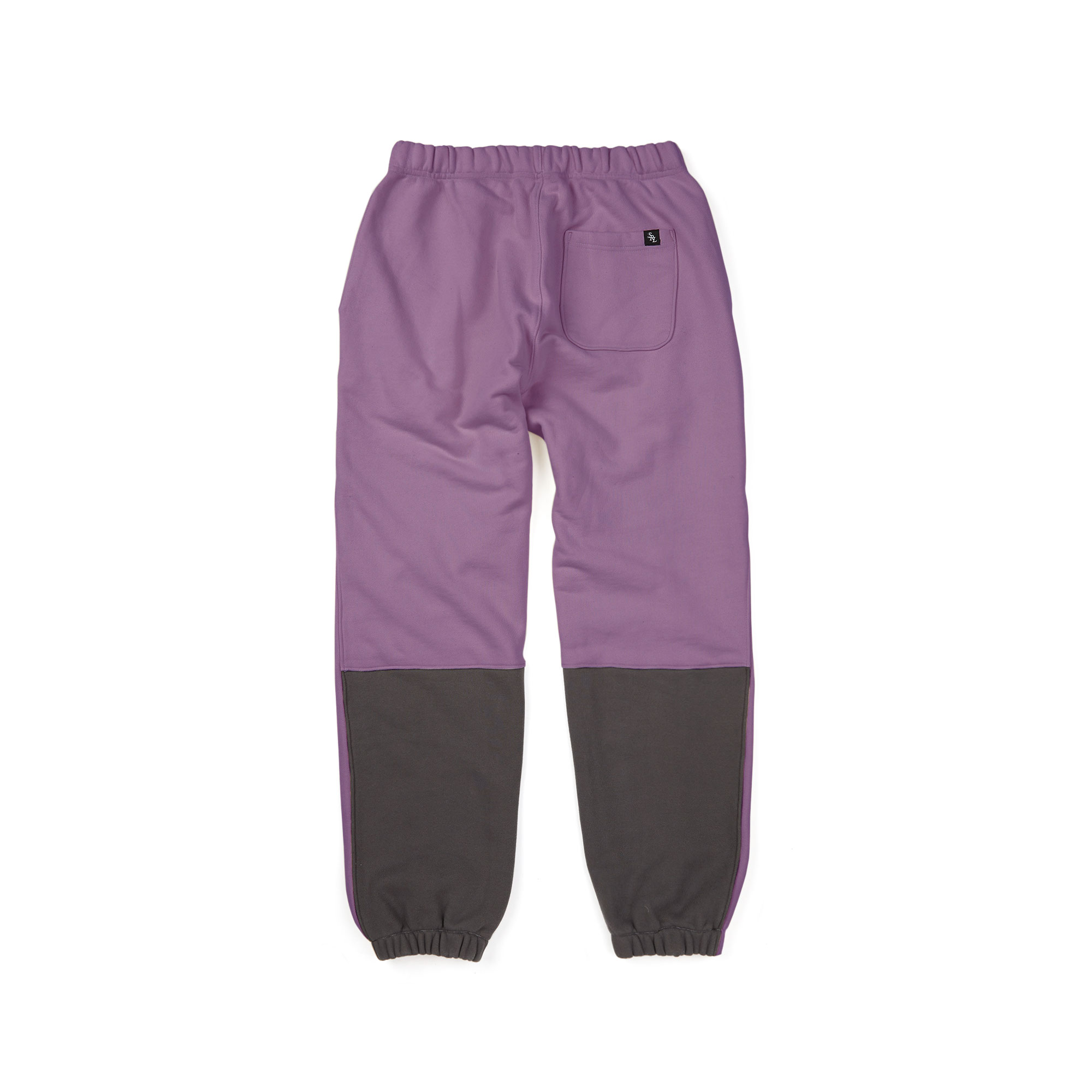 calf sweat pants / purple