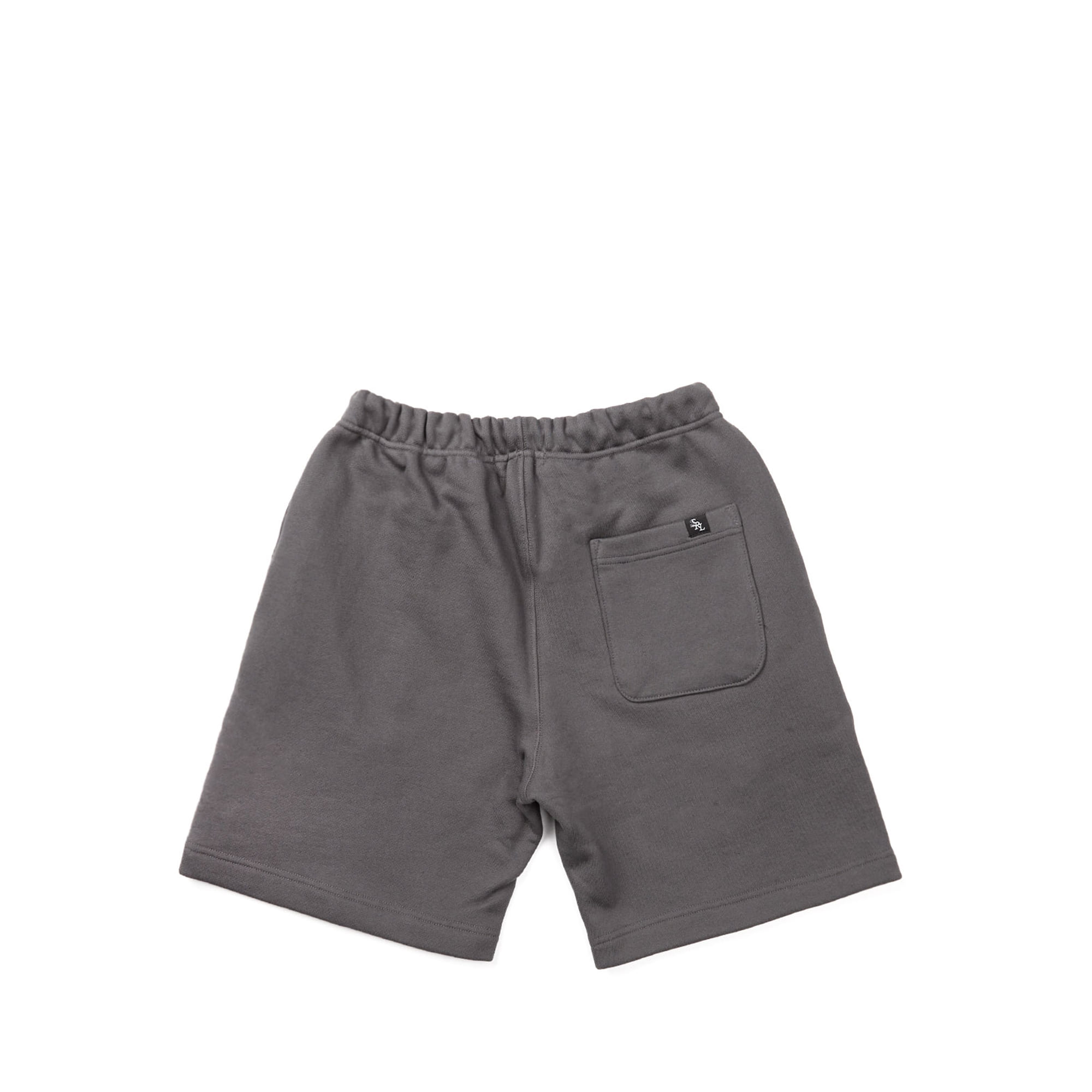 line sweat shorts / charcoal