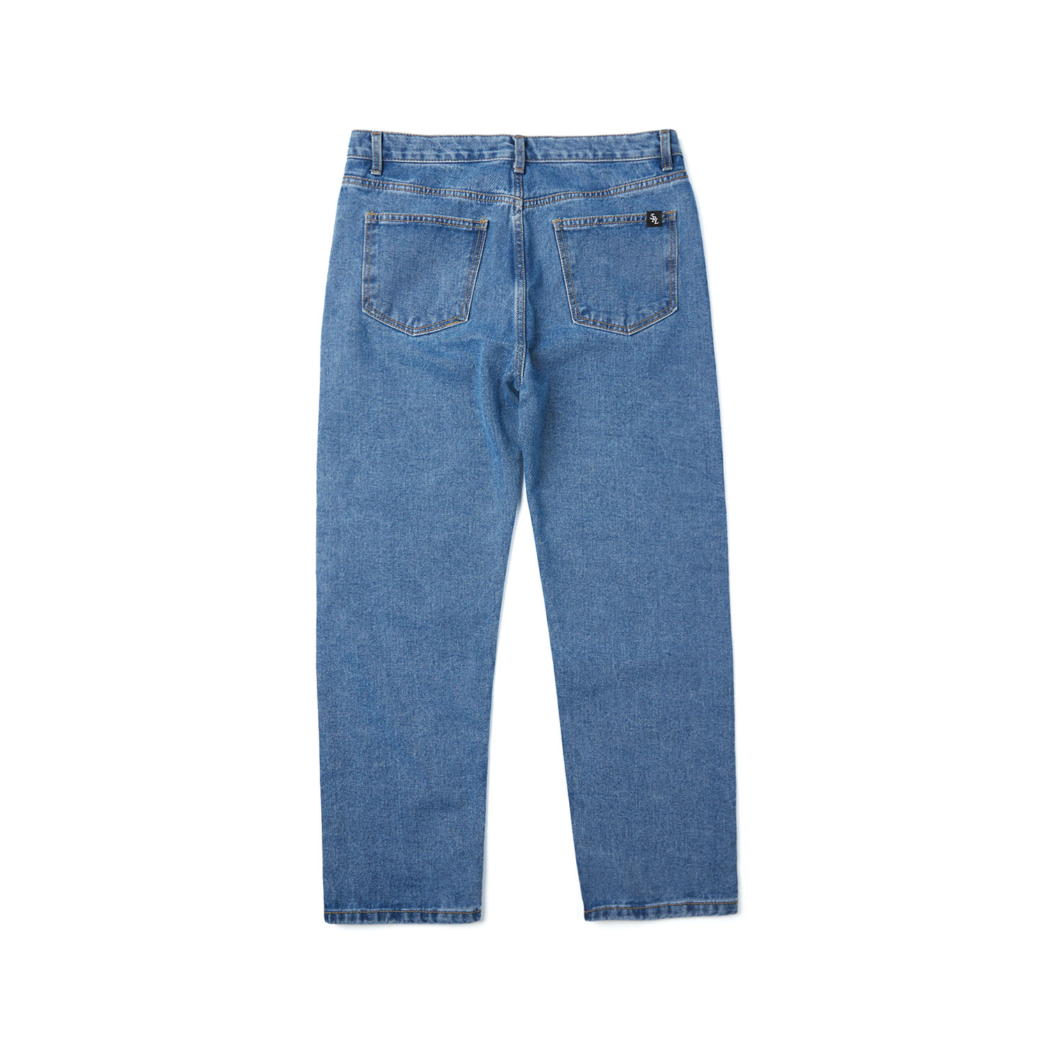 western denim pants / indigo