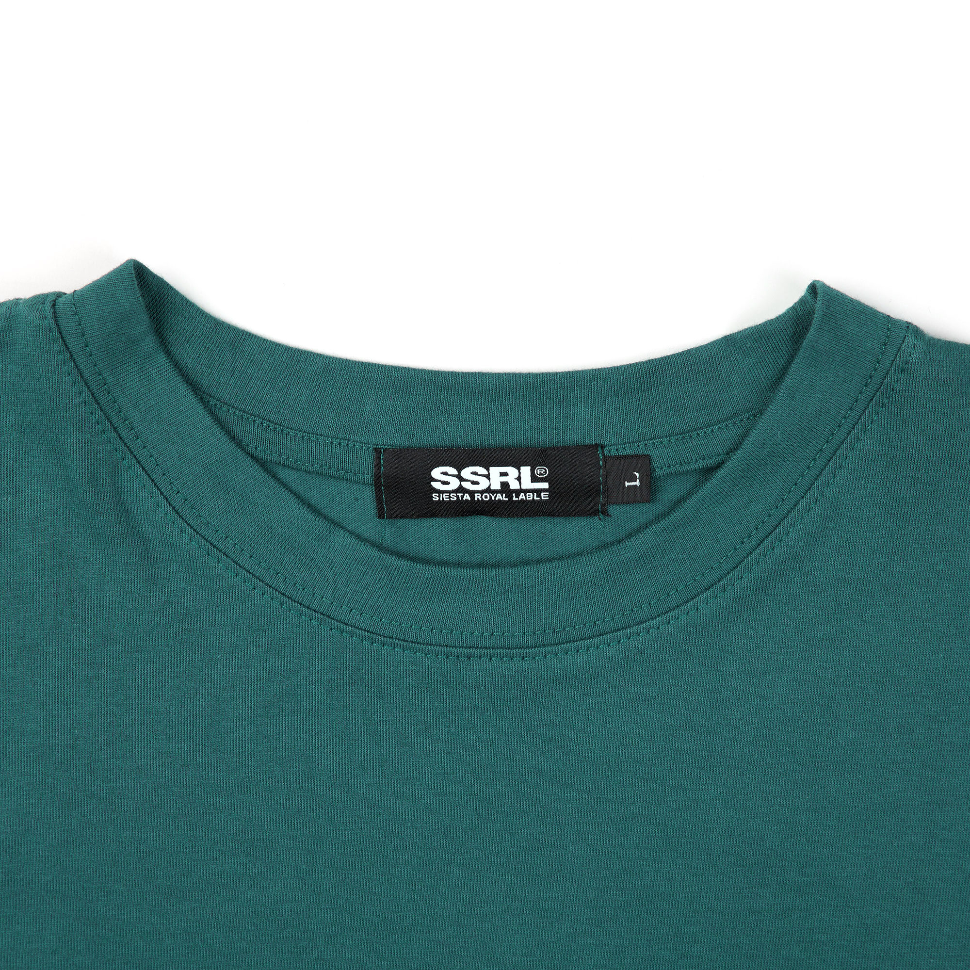 archive tee / deep green