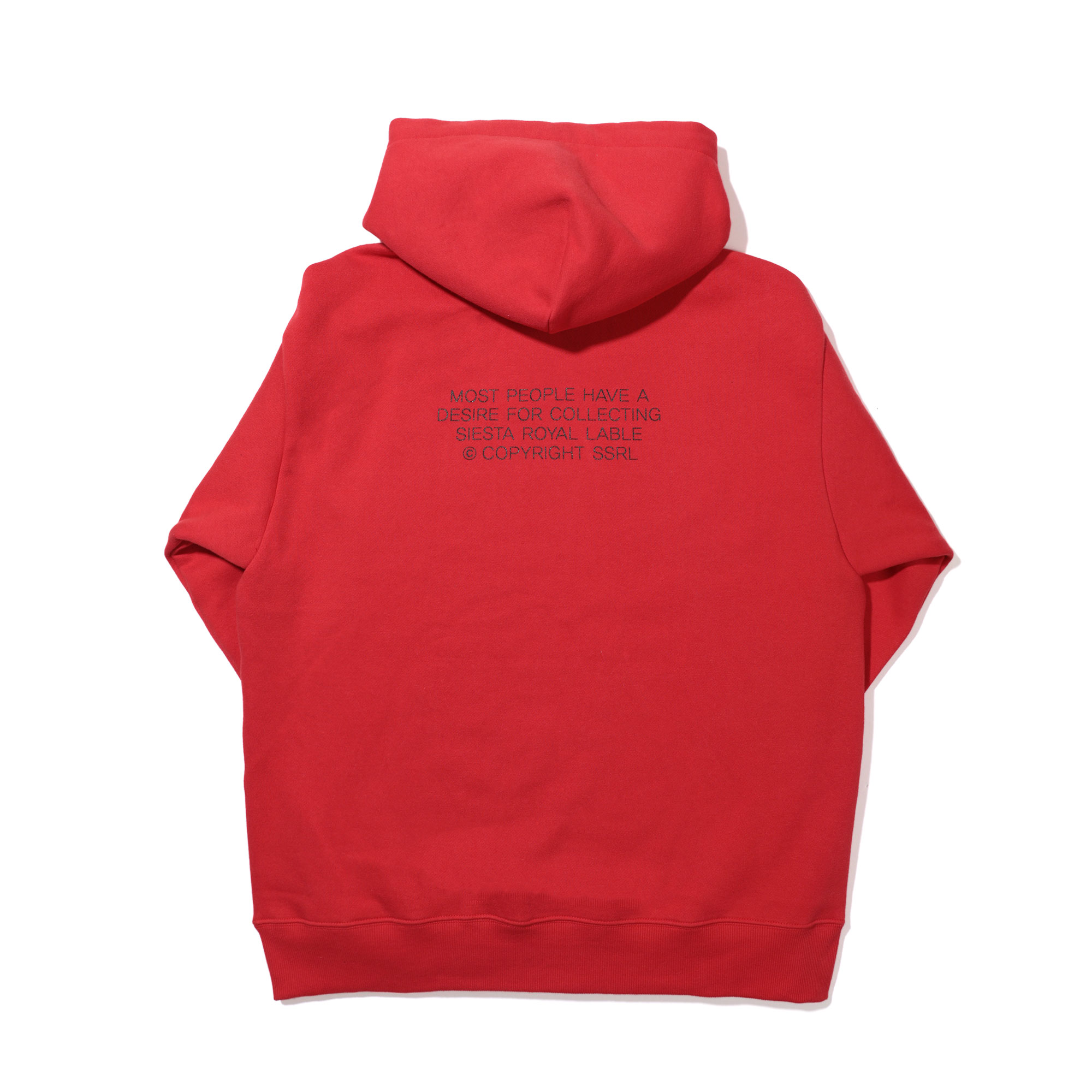 authentic hood / red