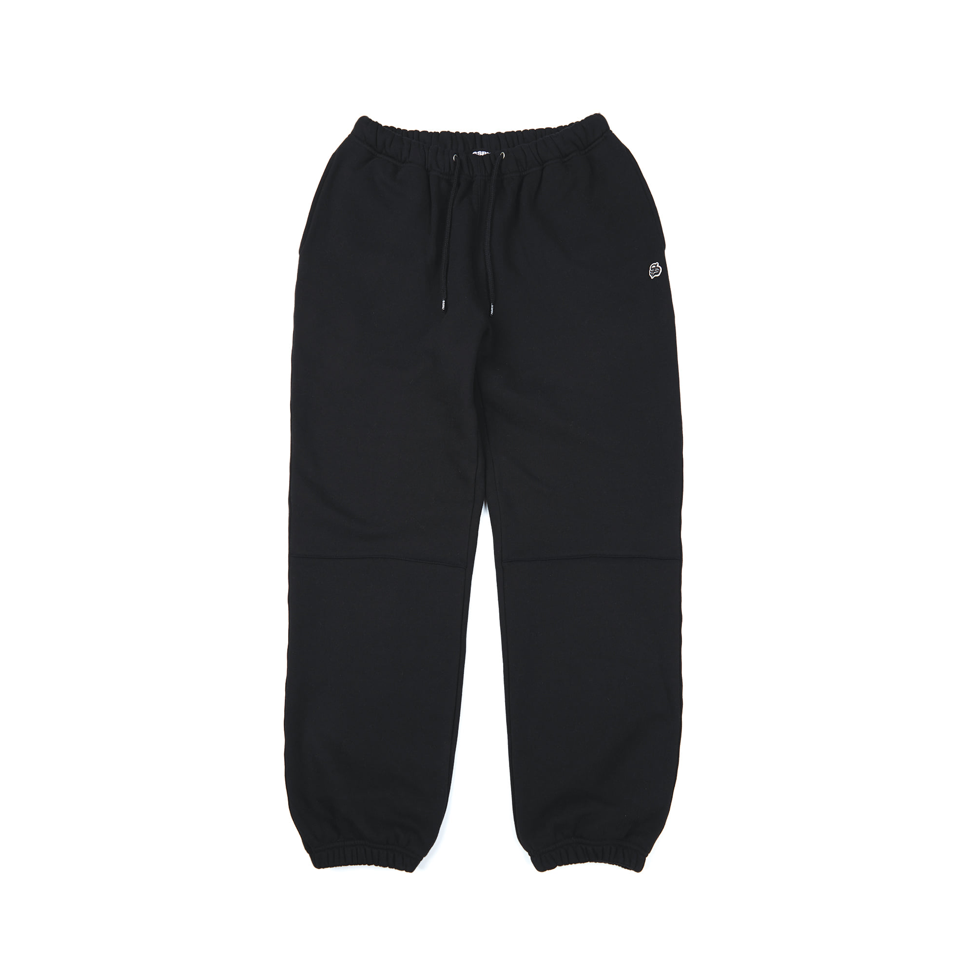 basic sweat pants / black