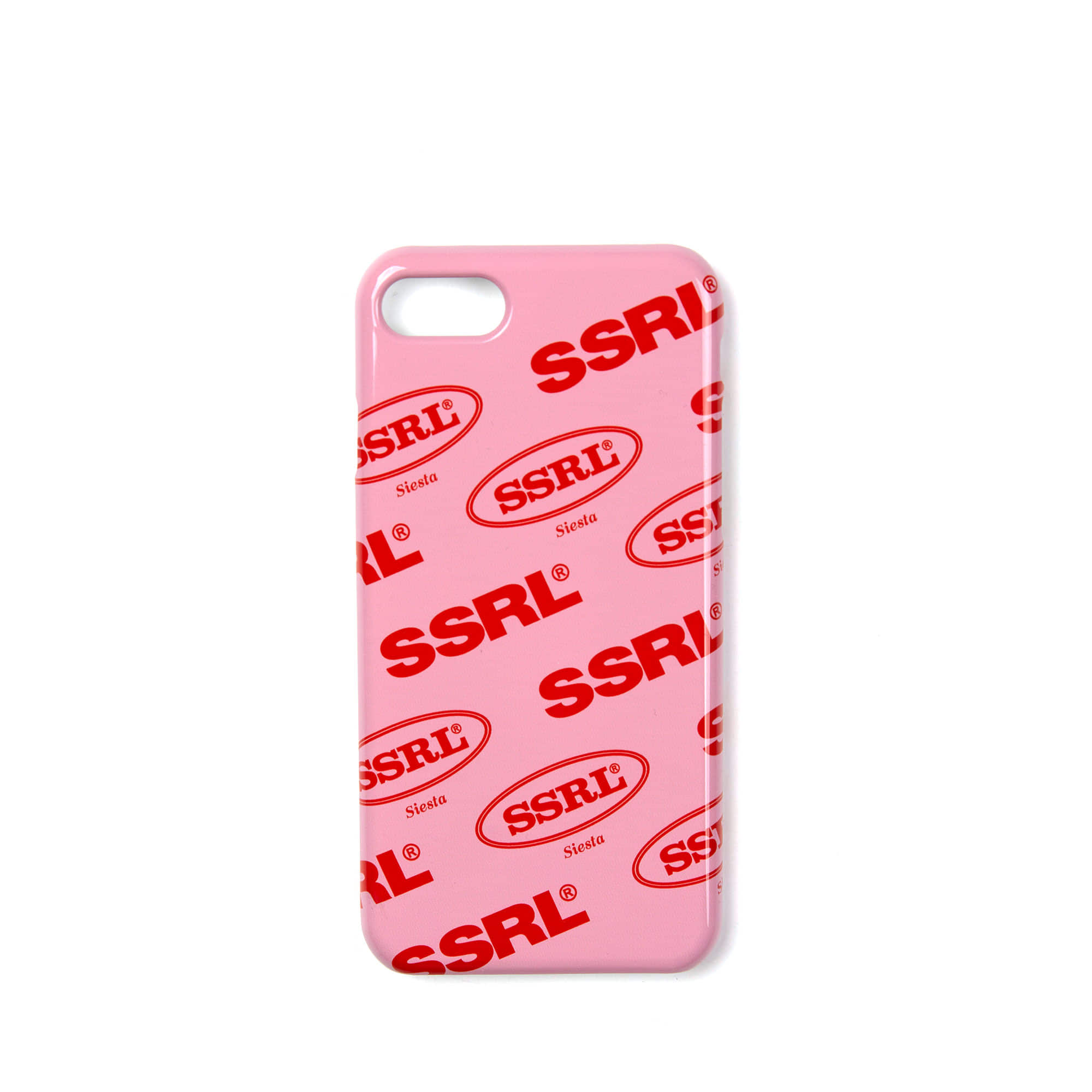 mix logo hard case / pink