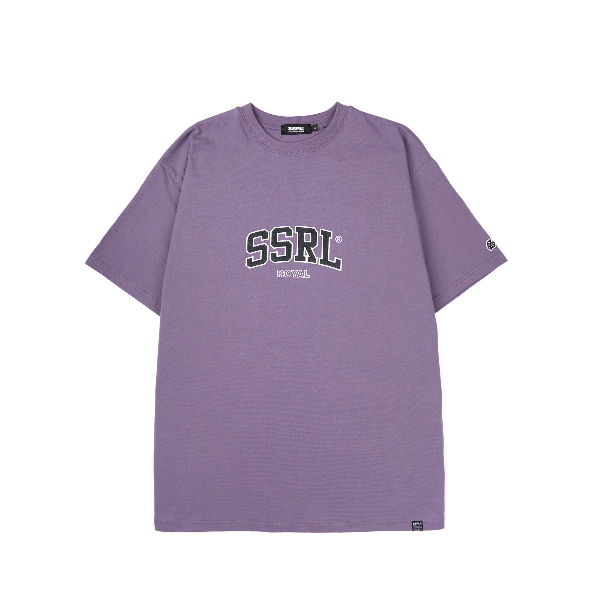 arch logo tee / purple