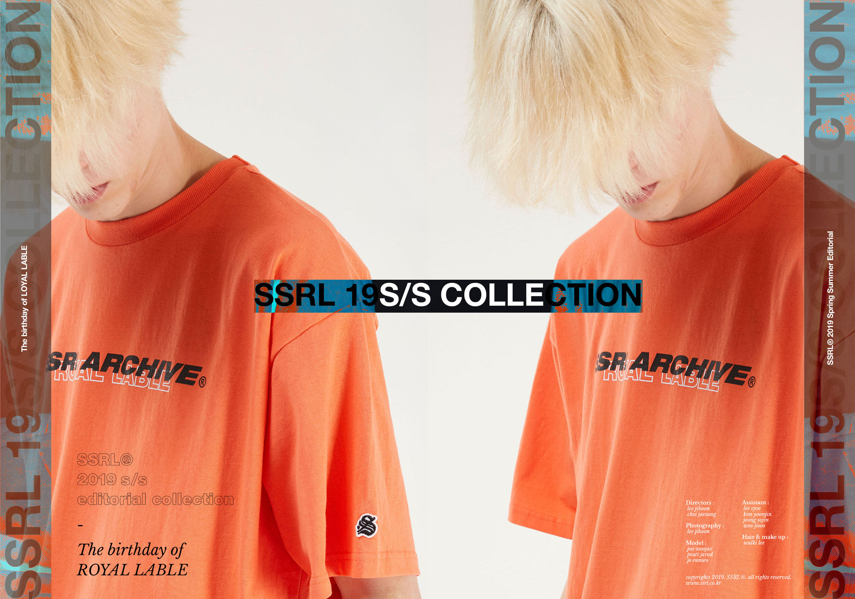 "2019 S/S collection - ""The birthday of ROYAL LABLE"""