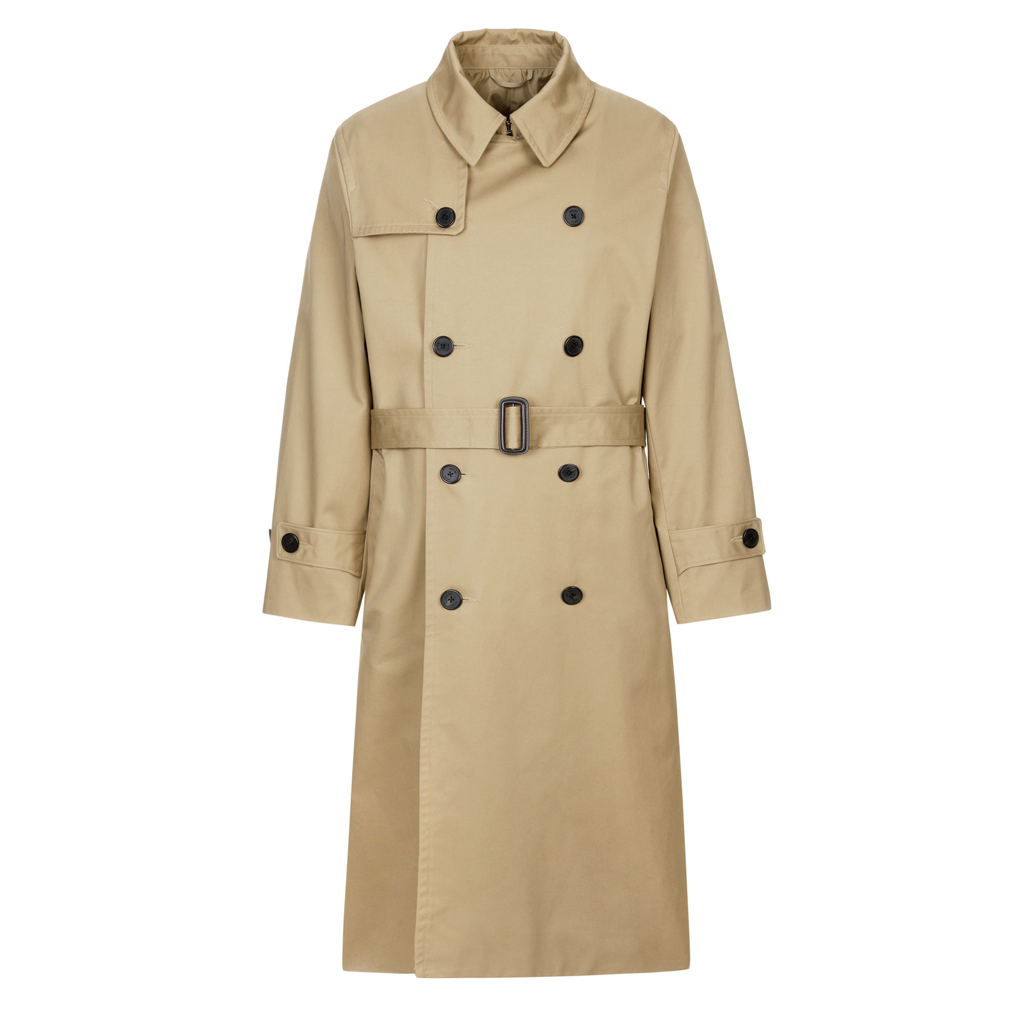 oversize trench coat / beige