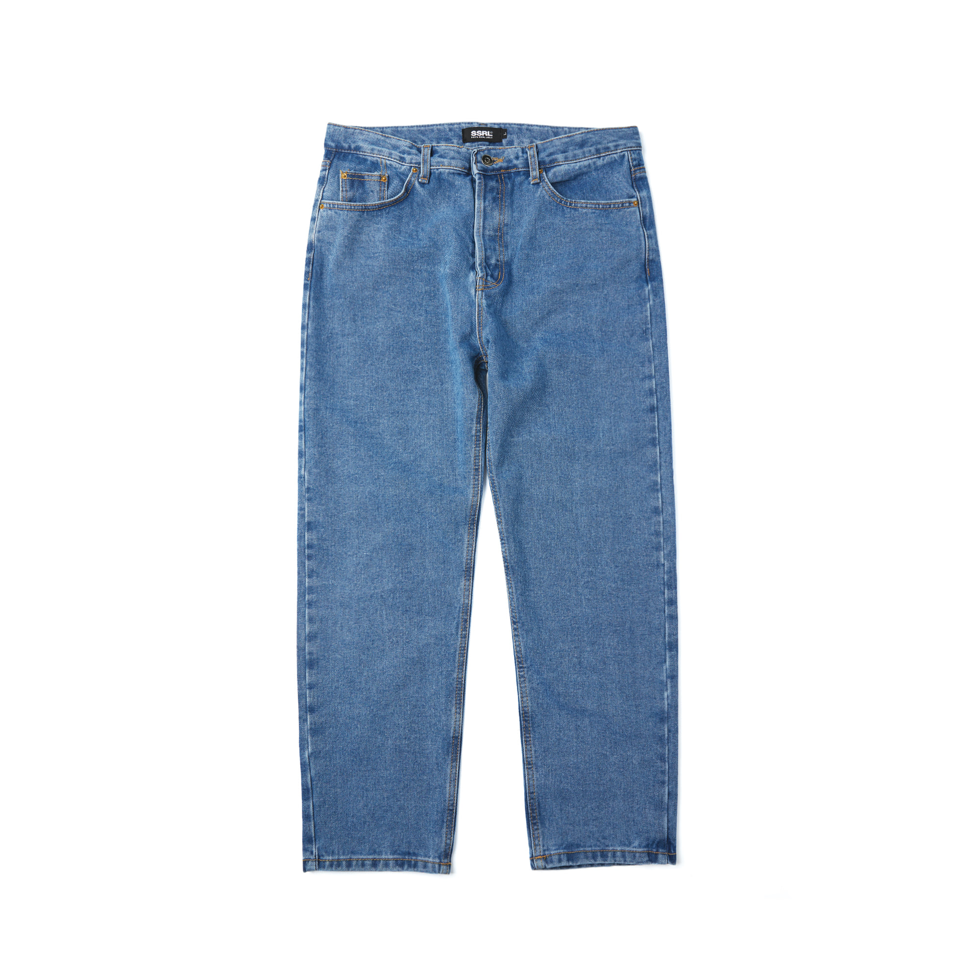 basic washed denim / indigo