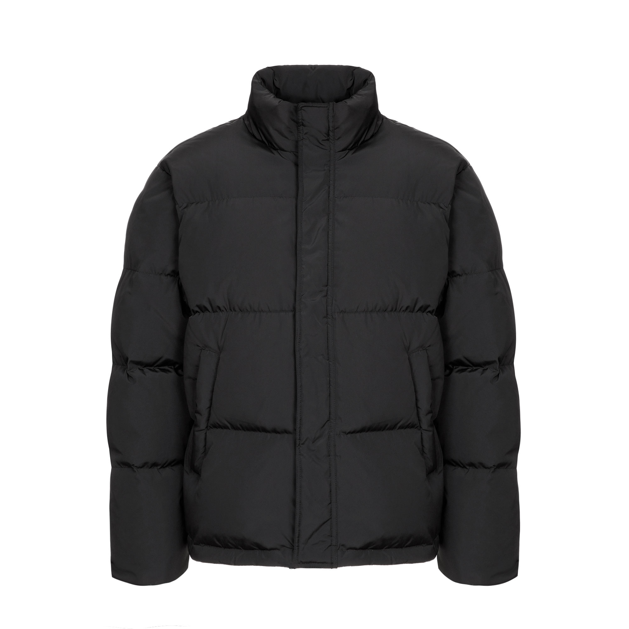 essential puffer down jacket / black
