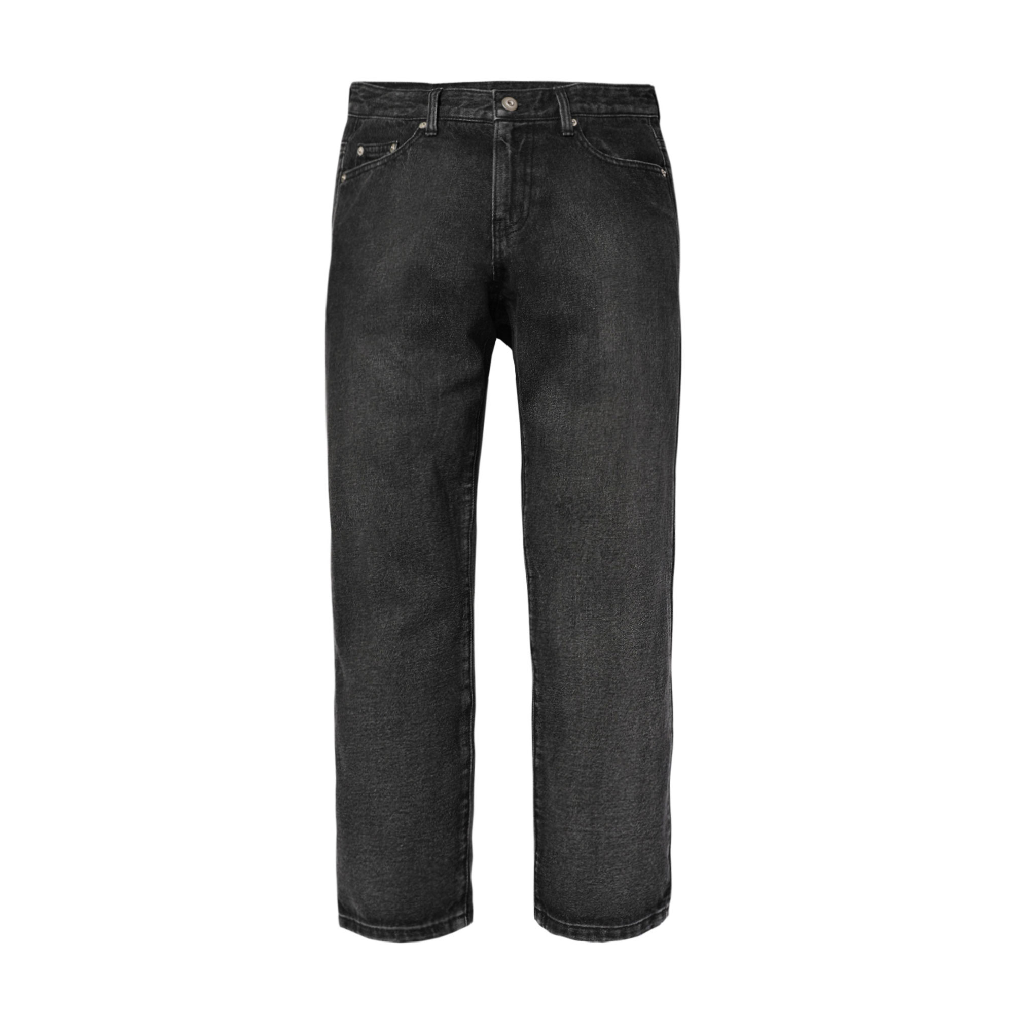 heritage semi-wide jeans / black